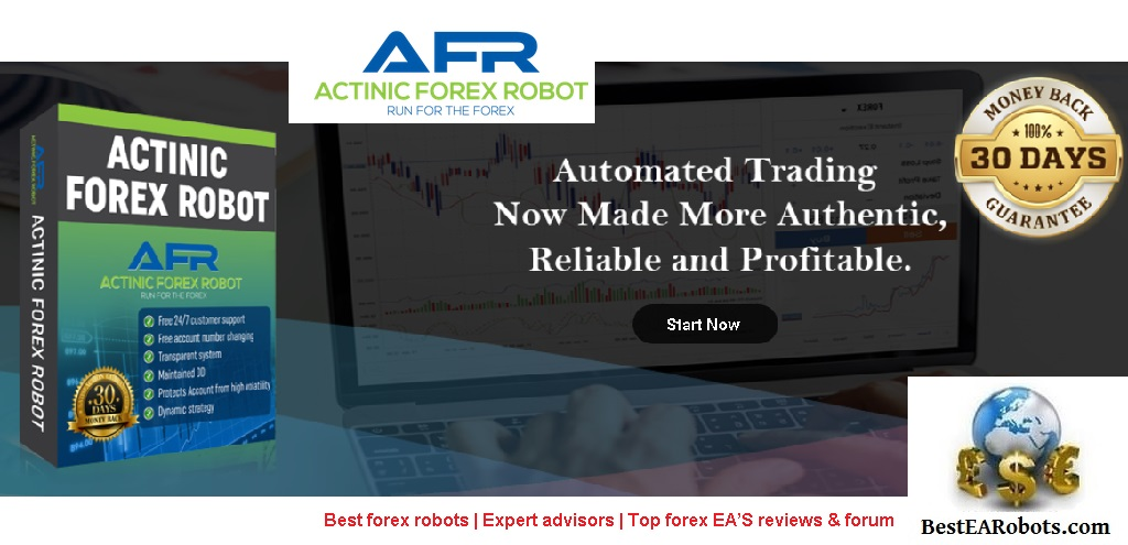Actinic Forex Robot EA Review